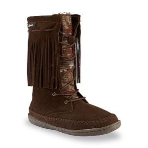 ** ~ Woolrich 'Pocono' Suede Moccasin Boot NEW